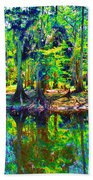 Cypress Coast Beach Towel