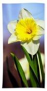 Daffodil Blossom Beach Towel
