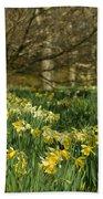 Daffodil Field Beach Towel