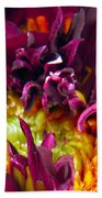 Dahlia Fairies Delight Beach Towel