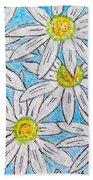 Daisies Daisies Beach Towel