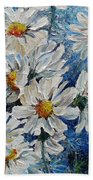 Daisy Cluster Beach Towel