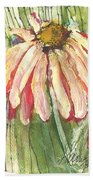 Daisy Girl Beach Towel by Sherry Harradence
