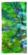 Daisy Palms Beach Towel