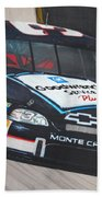 Dale Earnhardt At Bristol Beach Towel