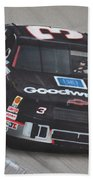 Dale Earnhardt Wins-wave To The Crowd Beach Towel