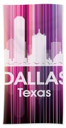 Dallas Tx 2 Beach Towel