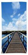 Dalmaney Bridge Beach Towel