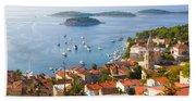 Dalmatian Coast Beach Towel