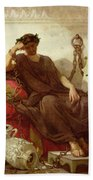 Damocles Beach Towel by Thomas Couture