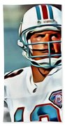 Dan Marino Beach Towel