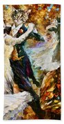 Dance Ball Of Cats  Beach Towel by Leonid Afremov