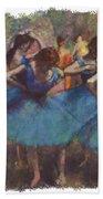 Dance By Degas Beach Towel