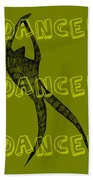 Dance Dance Dance Beach Towel by Michelle Calkins