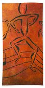 Dance Fever Beach Towel by Pamela Allegretto