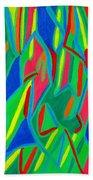 Dance Of Colors Beach Towel