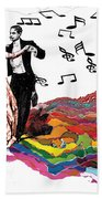 Dance Till The End Of Time Beach Towel