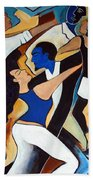 Dance With Me Beach Towel