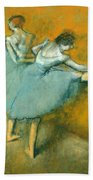 Dancers At The Barre Beach Towel