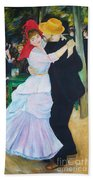 Dancing Couple  Beach Towel