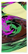 Dancing Goose 2 Beach Towel by Will Borden
