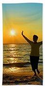 Dancing In The Sunlight Beach Towel