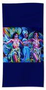 Dancing Panama Beach Towel