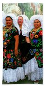 Dancing Queens Palm Springs Beach Towel