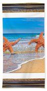 Dancing To The Beat Of The Sea Beach Towel