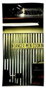 Danger Men Cooking Beach Towel