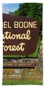 Daniel Boone Beach Towel