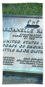 Dardanelle Plack Beach Towel