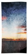 Dark Angel Beach Towel by Stelios Kleanthous