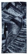 Dark Staircase Beach Towel