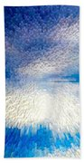 Dark To Light Beach Towel