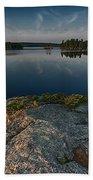 Darky Lake Beach Towel