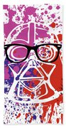 Darth Vader Corrective Lenses Beach Towel