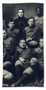 Dartmouth Football Team 1901 Beach Towel by Edward Fielding