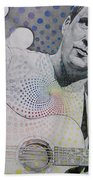 Dave Matthews All The Colors Mix Together Beach Towel