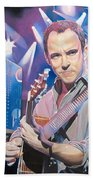 Dave Matthews And 2007 Lights Beach Towel