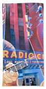 Dave Matthews And Tim Reynolds Live At Radio City Beach Towel