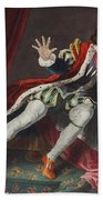 David As Richard IIi, Illustration Beach Towel