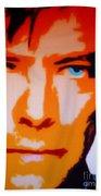 David Bowie Beach Towel