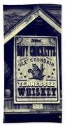 Davy Crocketts Tennessee Whiskey Beach Towel