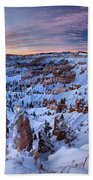 Dawn At Bryce Beach Towel