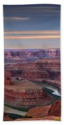 Dawn At Dead Horse Point Beach Towel