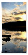 Dawn Breaks Beach Sheet
