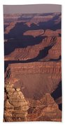 Dawn In The Grand Canyon Beach Towel
