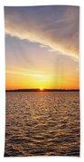 Dawn On The Chesapeak - St Michael's Maryland Beach Towel