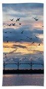 Dawn's Early Flight Beach Towel